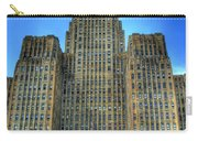 Buffalo City Hall Carry-all Pouch by Tammy Wetzel