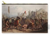 Buffalo Dance Of The Mandan Indians Carry-all Pouch