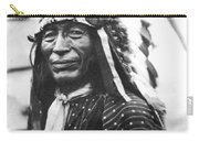 Buffalo Nickel Portrait Carry-all Pouch by Underwood Archives