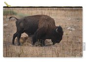 Buffalo Of Antelope Island Iv Carry-all Pouch