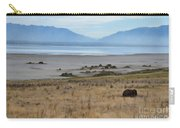 Buffalo Of Antelope Island V Carry-all Pouch