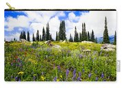 Buffalo Pass Colorado Wildflowers Carry-all Pouch