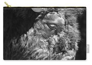 Buffalo Portrait Carry-all Pouch