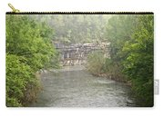 Buffalo River Mist Horizontal Carry-all Pouch by Marty Koch