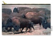 Buffalo Stampede Carry-all Pouch