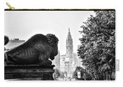 Buffalo Statue On The Parkway Carry-all Pouch