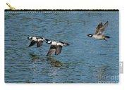 Bufflehead Duck Trio In Flight Carry-all Pouch