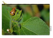 Bug On Leaf Carry-all Pouch