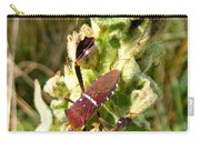 Bug On Stalk Of The Wooly Mullein Carry-all Pouch