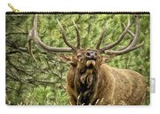 Bugling Bull Elk II Carry-all Pouch by Ron White