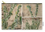 Bugloss Fiddleneck Collage Carry-all Pouch