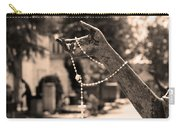 Buiatti Memorial Marker Detail Monumental Cemetery Sepia Carry-all Pouch