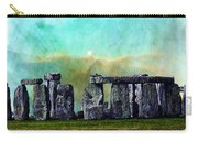 Building A Mystery 2 - Stonehenge Art By Sharon Cummings Carry-all Pouch