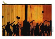 Building Silhouettes In Color Carry-all Pouch