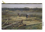 Building Site At Wesslingersee, 1876 Oil On Canvas Carry-all Pouch