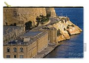 Buildings By The Mediterranean Sea Carry-all Pouch