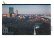 Buildings In A City, Boston Common Carry-all Pouch