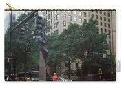 Buildings In A City, Trade And Tryon Carry-all Pouch