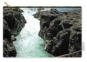 Bulkley River Falls In Moricetown-bc Carry-all Pouch