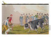 Bull Baiting Carry-all Pouch