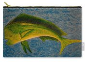 Bull Dolphin Mahimahi Fish Carry-all Pouch