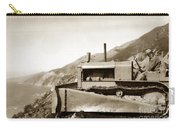 Bull Dozer Road Construction On Highway One Big Sur Circa 1930 Carry-all Pouch