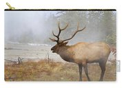 Bull Elk Bugles Loves In The Air Carry-all Pouch