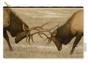 Bull Elk In The Rut   #8924 Carry-all Pouch