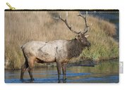 Bull Elk On The Madison River Carry-all Pouch