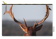 Bull Elk Portrait Carry-all Pouch