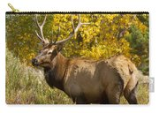 Bull Elk With Autumn Colors Carry-all Pouch