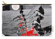 Bull Fight Matador Charging Bull Us Mexico Border Town Nogales Sonora Mexico Collage 1978-2012 Carry-all Pouch