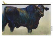 Bull Carry-all Pouch by Frances Marino