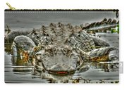 Bull Gator On Watch Carry-all Pouch