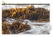 Bull Kelp Durvillaea Antarctica Blades In Surf Carry-all Pouch