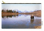 Bull Moose Grand Teton National Park Wy Carry-all Pouch