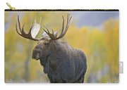 Bull Moose In Autumn Carry-all Pouch