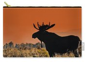 Bull Moose Sunset Carry-all Pouch