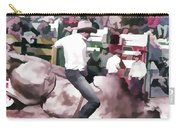 Bull Rider Digital Art  By Cathy Anderson Carry-all Pouch