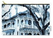Bull Street House Savannah Ga Carry-all Pouch