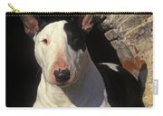 Bull Terrier Dog Carry-all Pouch
