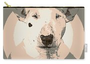 Bull Terrier Graphic 1 Carry-all Pouch