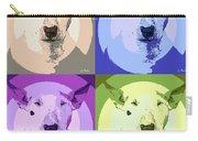 Bull Terrier Pop Art Carry-all Pouch