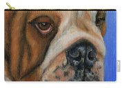 Beautiful Bulldog Oil Painting Carry-all Pouch