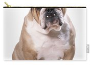 Bulldog Sitting Carry-all Pouch
