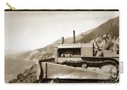 Bulldozer Working On Highway One Big Sur Circa 1930 Carry-all Pouch