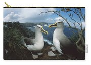 Bullers Albatrosses On Storm-lashed Carry-all Pouch