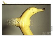 Bullet Piercing A Banana Carry-all Pouch
