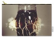 Bullet Piercing Glass Of Soda Carry-all Pouch