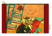 Bullfight Poster Carry-all Pouch